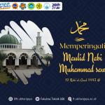 Selamat Memperingati  Maulid Nabi Muhammad SAW 1443 H