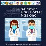 Selamat Hari Dokter Nasional 24 Oktober 2021