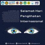 Selamat Hari Penglihatan Internasional 14 Oktober 2021